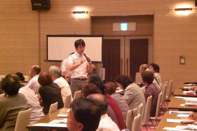 農林年金受給者連盟福島県南支部総会 写真1